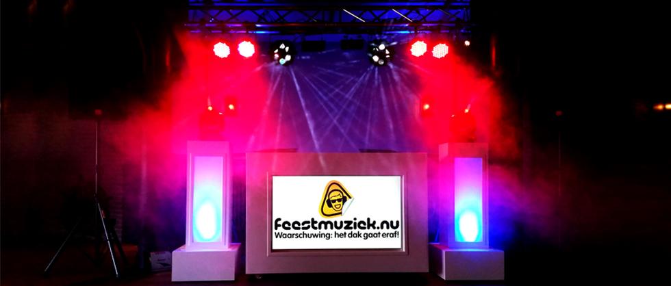 exclusieve witte dj show | witte dj booth